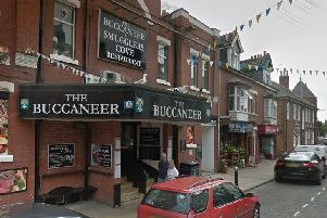 The incident happened outside The Buccaneer.