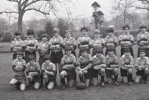 Members of Hutton Grammar School's Under 12 rugby squad, who are unbeaten this season - the only Hutton team which can claim such a fine record