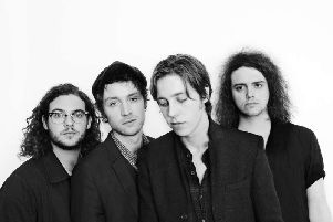 Catfish and the Bottlemen filmed the video for their latest single in South Shields.