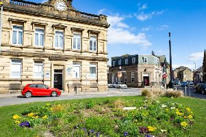 Thornton Square, Brighouse - the proposed location to redevelop the market.
