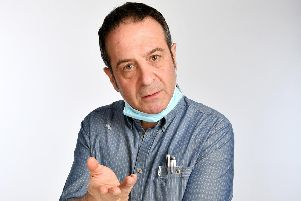Comedian Mark Thomas looks at the NHS in his new show