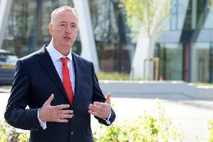Lancashire's Police and Crime Commissioner Clive Grunshaw