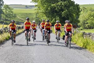 Riders from the Clitheroe Clarion Cycling Club. (s)
