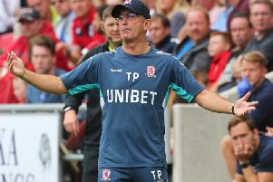 Tony Pulis discussed Middlesbrough's injury blows after the defeat to Nottingham Forest