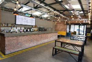 The Northern Whisper tap room in Rawtenstall