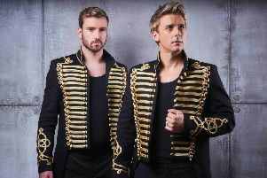 Jonathan Ansell and Jai McDowall have teamed up for the dramatic and spine-tingling Les Musicals Live Concert Tour.