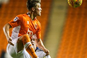 Max Clayton last played for Blackpool in December 2017