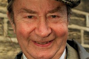 """Actor Peter Sallis, who played  Norman """"Cleggy"""" Clegg in BBC One's Last of the Summer Wine. (s)"""