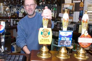 "An annual memorial day is being held in honour of Andrew ""Gilly"" Gildea, former landlord of The Admiral Lord Rodney. (s)"