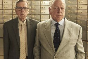 Timothy Spall and Kenneth Cranham were grizzled old lags in Hatton Garden