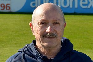 Derbyshire County Cricket Club, pictured is David Houghton