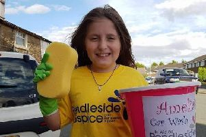 Amelia Atkinson is holding a charity car wash in Burnley