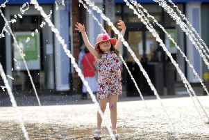 A sizzling forecast lies ahead for Wakefield this weekend.