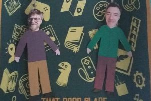Jamie Cunningham and Sam Rushton, directors of0282, are hosting a gallery, digital archive, music project,video game sessions and much more at Burnley Library.