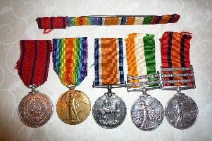 Priceless First World War medals were stolen during the Salterforth house break-in