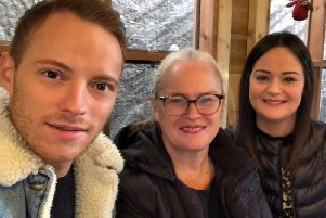 Adam and Jessica Lea with their mum Vicki, of Whittle-le-Woods