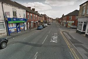 Kirkby Road, Hemsworth, where the police chase started. 'Image: Google