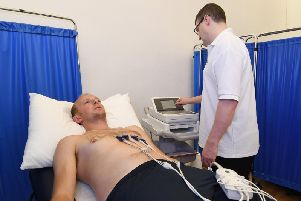 Tom Jackson was one of the first people to be screened at Bridlington's first heart screening day