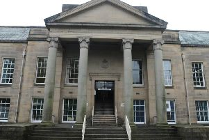 A Burnley man found himself before magistrates after he pushed a police officer who was trying to arrest someone else