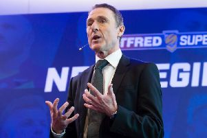 Super League chief executive Robert Elstone (PHOTO: Allan McKenzie/SWpix.com)