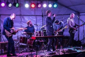 Dirty Suns who are playing this year's Bands in the Park