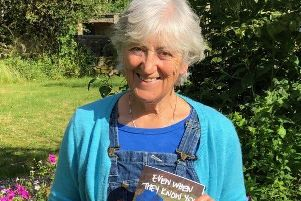 Author Sue Hepworth has just published her latest novel set on the Monsal Trail.