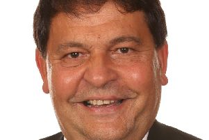 Coun Gordon Wheeler, chairman of the communities and place review and development committee Nottinghamshire County Council.
