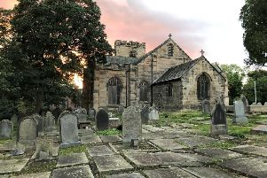 A gardener's delight - St Leonard's in Walton-le-Dale, Preston. The church captioned and submitted this photo for Parish Pixels, a national church photography competition run by specialist insurer Ecclesiastical
