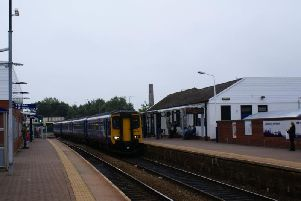 The woman was assaulted on a Manchester to Preston service as it approached Chorley station on Saturday evening
