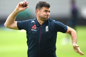 James Anderson is suffering with a calf injury (photo: Getty Images)