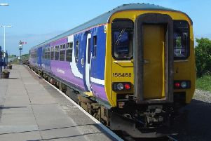 The incident happened on the Northern 7.21pm service from Blackpool North to York