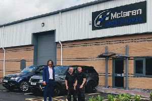 Mclaren Sports Homes has moved onto the Moss Industrial Estate