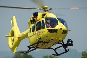 Skipton Building Society is supporting the Yorkshire Air Ambulance.