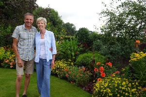 Terry and Sue Riding have reached the finals of The Nations Favourite Garden competition