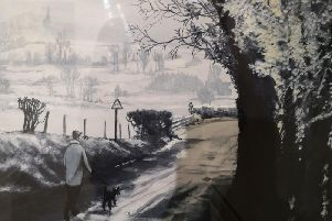 Back Road to Clitheroe by Dave Gudgeon