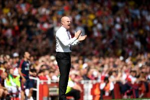 Sean Dyche at the Emirates