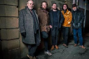 The Hiding Magpies (L-R): Shug Spencer, Dan Arnold, Jack Herbert, Jake Dixon and Mike Smith.