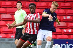 MacDonald, right, has been linked with a loan switch to Blackpool