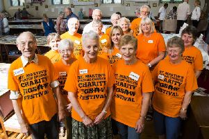Charity Jigsaw Festival volunteers