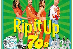 Rip It Up is back at the Baths Hall this autumn starring, from left: Melody Thorton, Louis Smith, Rachel Stevens and Lee Ryan.