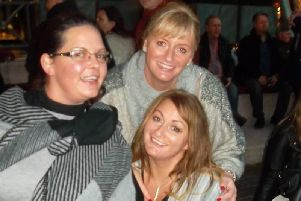 Sarah Hindle (left), Sharon Grennan (top), and Elisa Hindle.