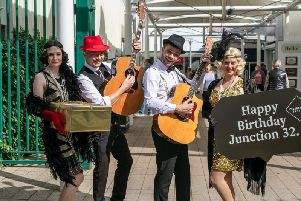 Castleford shopping centre Junction 32 has celebrated its 20th birthday.