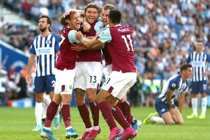 Jeff Hendrick celebrates his late equaliser