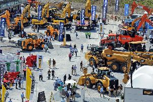 Hillhead showcases the latest products, services and equipment for the quarrying, construction and recycling industries. Photo by Anne Shelley.