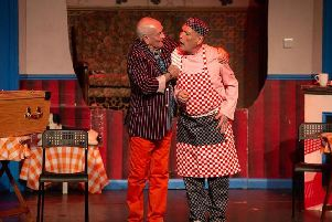 Comedy legends Tommy Cannon and Billy Pearce star in the play.