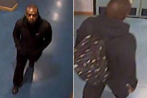 Anyone who recognises the man pictured is asked to contact police on 101.