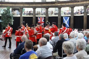 Buxton Military Tattoo 2015, the Yorkshire Volunteers Band