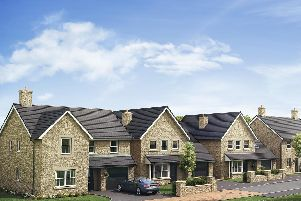 CGI image of what the proposed homes could look like.