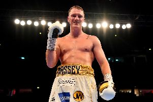 Chapel boxer Jack Massey is aiming to win the British cruiserweight title.  (Photo by Justin Setterfield/Getty Images)