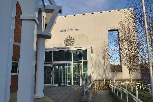 Chesterfield Magistrates' Court where Daniel Spalding appeared